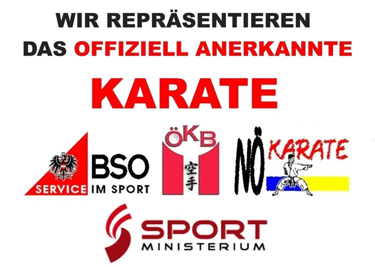 offiziell anerkanntes Karate